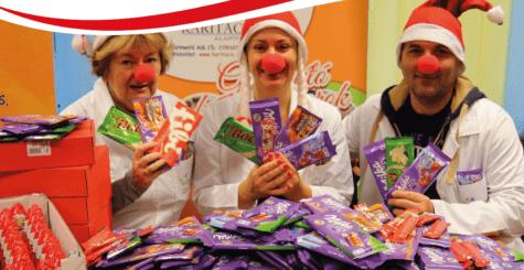 Egy tábla csoki a beteg gyerekekért – Karitáció Alapítvány