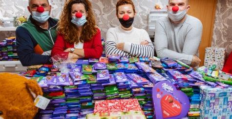 Több mint 10.000 tábla csokoládé  – Együtt csodákra vagyunk képesek
